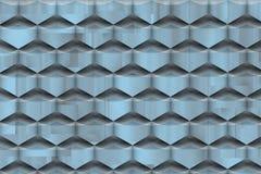 Futuristic texture with soft bluish shadows. stock illustration