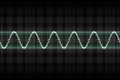 Futuristic Thumping Music Beats Stock Image