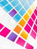 Futuristic Tiled Background Stock Image