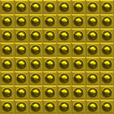 Futuristic tiled wall Royalty Free Stock Photography