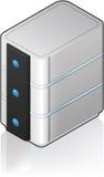 Futuristic Tower Server Royalty Free Stock Photo