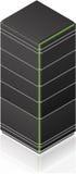 Futuristic Tower Server Rack Royalty Free Stock Photo