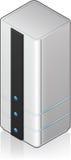 Futuristic Tower Server Rack Stock Photos