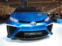 Futuristic Toyota FCV Stock Photos