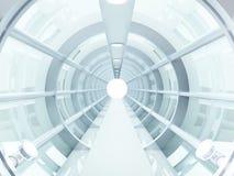 futuristic tunnel Royaltyfria Foton
