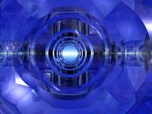 futuristic tunnel Royaltyfri Bild