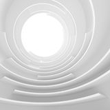 Futuristic Tunnel Design Royalty Free Stock Photography
