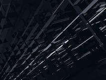 futuristic unknown för främmande konstruktionsfantasi Arkivbild