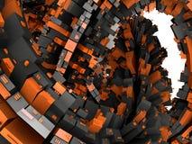 futuristic unknown för främmande konstruktionsfantasi Royaltyfri Foto