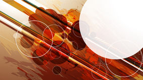 Futuristic vector background for your text Stock Image