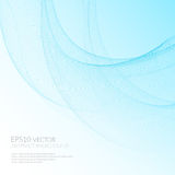 Futuristic vector illustration. Abstract background with distortion space. Stock Photography
