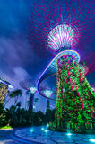 Futuristic view of Singapore Royalty Free Stock Photography