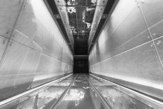futuristic walkway στοκ φωτογραφίες