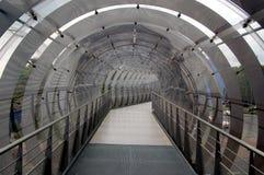 futuristic walkway στοκ εικόνες
