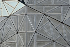 Futuristic wall. Wall from federation square Melbourne Stock Image