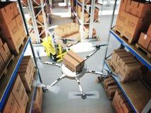 Futuristic warehouse Stock Image
