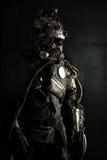 Futuristic warrior Royalty Free Stock Image