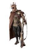 Futuristic warrior Stock Images