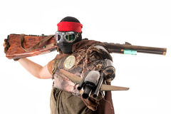 Futuristic warrior Stock Image
