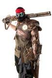 Futuristic warrior Royalty Free Stock Photo