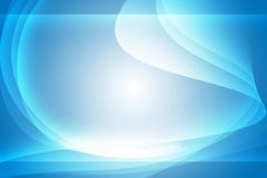 Futuristic Wave Background. Blue Light Futuristic Wave Abstract Background Design Stock Photo