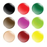 Futuristic web buttons Royalty Free Stock Image
