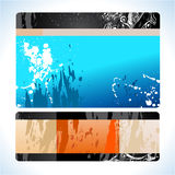 Futuristic Web Site template. Abstract Colorful Futuristic Web Site template Stock Photo