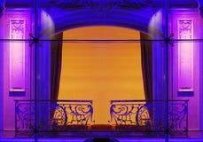 Futuristic window Stock Images
