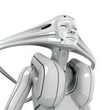 Futuristic woman Royalty Free Stock Image