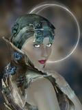 Futuristic woman Royalty Free Stock Photos