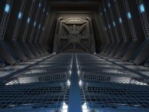 Futuristisch binnenland Stock Afbeeldingen