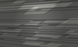 Futuristisch Donker Grey Abstract Background vector illustratie