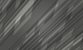 Futuristisch Donker Grey Crystal Abstract Texture stock illustratie