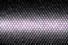 Futuristisch geometrisch patroon met velen die kleine zeshoeken herhalen vector illustratie