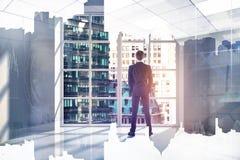 Futuristisch innovatie en financiënconcept Stock Fotografie