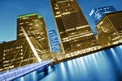 Futuristisch Londen Stock Foto's