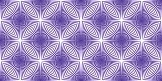 Futuristisch patroon - vervormingseffect Stock Illustratie