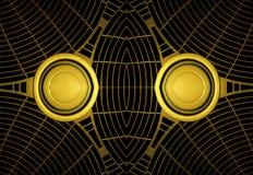 Futuristisch Technologie-Patroon Als achtergrond Royalty-vrije Stock Foto's