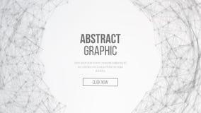 Futuristische aardebol Abstract Technologie Futuristisch Netwerk Grote Gegevens Complexe Vector Digitaal geproduceerd beeld Vecto Royalty-vrije Stock Foto