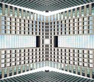 Futuristische abstracte achtergrond Royalty-vrije Stock Afbeelding