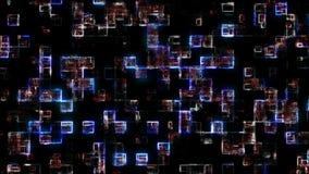 Futuristische abstracte achtergrond 3D Illustratie stock illustratie