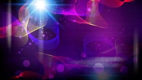 Futuristische abstracte fantasie gloeiende achtergrond Royalty-vrije Stock Afbeeldingen