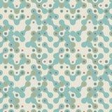 Futuristische abstracte vector bleke textuur - groene colo Stock Afbeelding