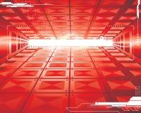 Futuristische Achtergrond Stock Foto