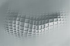 Futuristische achtergrond met lijnen en abstracte laag-poly, veelhoekige driehoekige mozaïekachtergrond voor Web, presentaties en Royalty-vrije Stock Fotografie