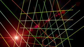 Futuristische Animation mit Streifen und Licht, Schleife HD 1080p stock video footage