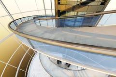 Futuristische Architectuur Stock Afbeelding