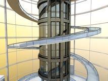 Futuristische Architectuur Royalty-vrije Stock Foto