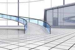Futuristische Architektur Lizenzfreie Stockfotos