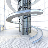Futuristische Architektur Stockfotos